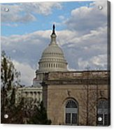 Washington Dc - Us Capitol - 011314 Acrylic Print by DC Photographer