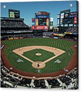 Washington Nationals V. New York Mets Acrylic Print