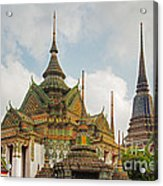Wat Pho, Thailand Acrylic Print