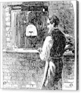 Watchmaker, 1869 Acrylic Print
