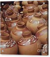 Water Pots Acrylic Print by Sue Sill