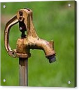 Water Spicket Or Spigot Acrylic Print