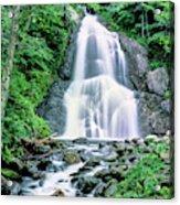 Waterfall In A Forest, Moss Glen Falls Acrylic Print
