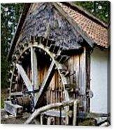 Watermill Acrylic Print