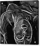 We Fade To Grey Acrylic Print