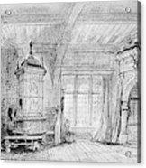 Weber Der Freischutz, 1821 Acrylic Print