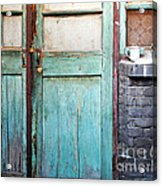 Welcome Home In Beijing Acrylic Print by Glennis Siverson