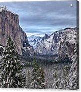 Welcome To Yosemite Acrylic Print