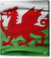 Welsh Flag Acrylic Print