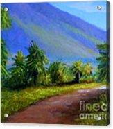 West Maui Mountains Acrylic Print