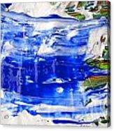 Wet Paint 54 Acrylic Print
