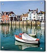 Weymouth Harbour Acrylic Print
