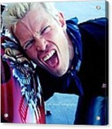 Billy Idol - Whiplash Smile Acrylic Print