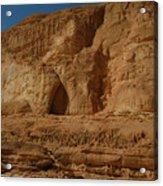 White Canyon Sinai Desert Egypt Acrylic Print