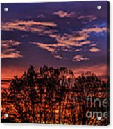 Wild West Virginia Sunrise Acrylic Print