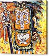Wildman John Acrylic Print