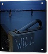 1 Will Of The Hudson 2 Acrylic Print