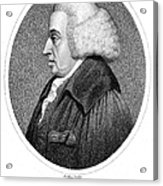 William Cullen (1710-1790) Acrylic Print