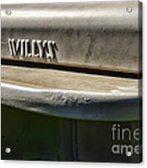 Willys Jeep  Acrylic Print