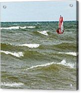 Wind Surfing Acrylic Print