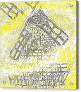 Windmill Acrylic Print by Joe Dillon