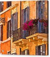 Window Boxes Acrylic Print