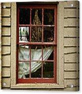 Window - Glimpse Into The Past Acrylic Print
