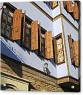 Window Shutters Acrylic Print