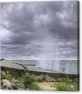 Winds At Point Betsie Acrylic Print