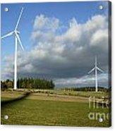 Windturbines Acrylic Print