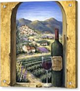 Wine And Lavender Acrylic Print