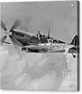 Wing Commander Johnnie Johnson Acrylic Print