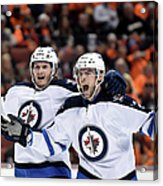 Winnipeg Jets V Anaheim Ducks - Game One Acrylic Print