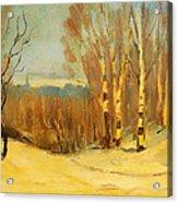 Winter Near Montreal Acrylic Print