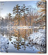 Winter Reflection Acrylic Print