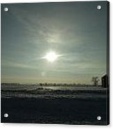 Winter Sunrise 2014 03 Acrylic Print