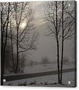 Winter Sunset In Kedron Valley II Acrylic Print