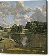 Wivenhoe Park  Essex Acrylic Print