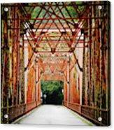 Wohler Bridge Over The Russian River Acrylic Print