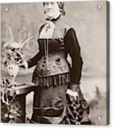 Women's Fashion, 1880s Acrylic Print