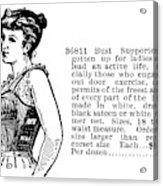Women's Fashion, 1895 Acrylic Print