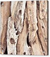 Wood Abstract Acrylic Print