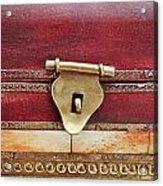 Wooden Box Acrylic Print by Tom Gowanlock