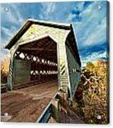 Wooden Covered Bridge  Acrylic Print