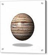 Wooden Globe Acrylic Print