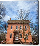 Wood's Grist Mill In Deep River County Park Acrylic Print