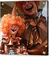 World Famous Clown From 1936 Acrylic Print