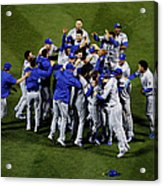 World Series - Kansas City Royals V New Acrylic Print