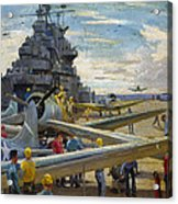 Wwii: Aircraft Carrier Acrylic Print