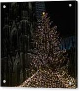 Xmas In Cologne Acrylic Print